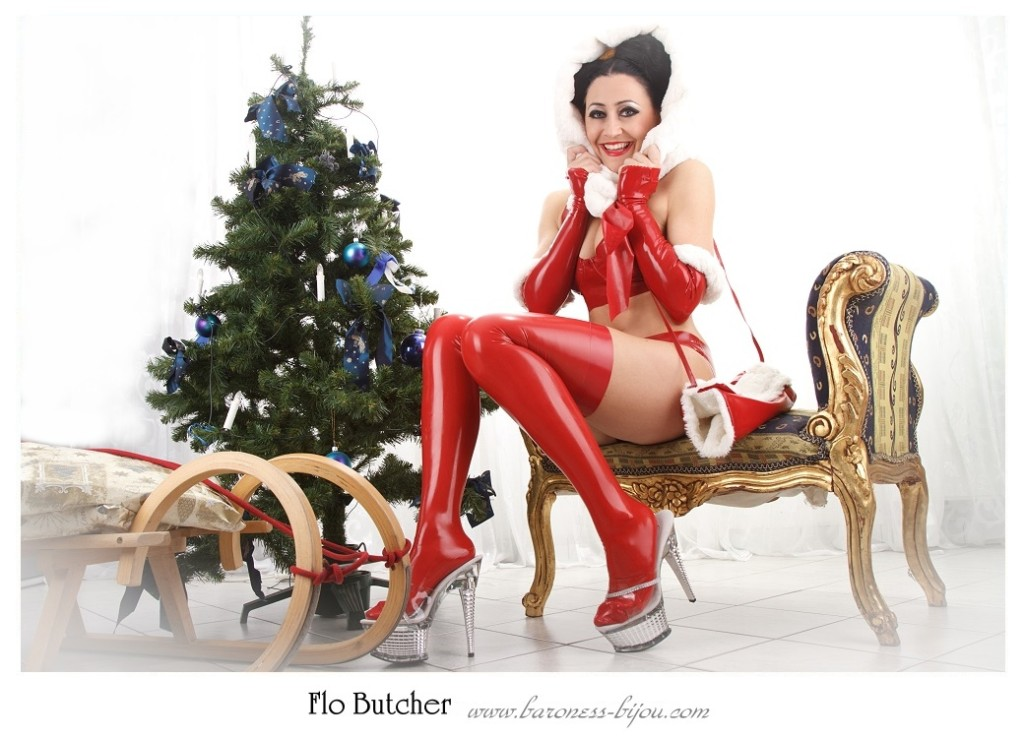 Latexdress,Weihnachten,rubber, x-mas,weichnachten in Latex